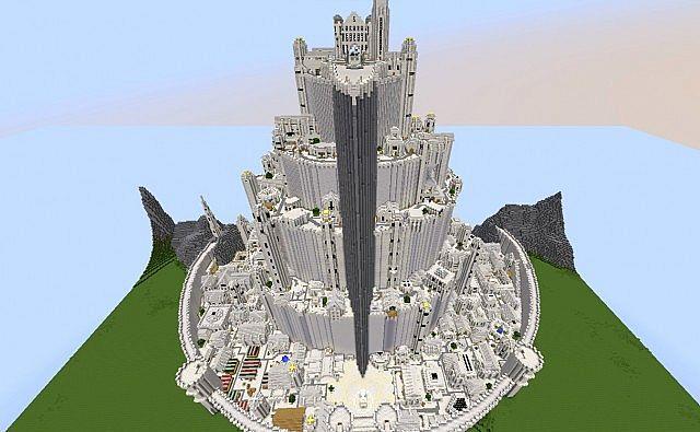Minecraft Minas Tirith...