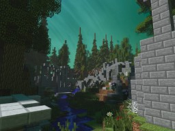 Aethra - Elvish ruins Minecraft Project