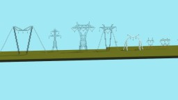 Transmission towers (simple pack) Minecraft