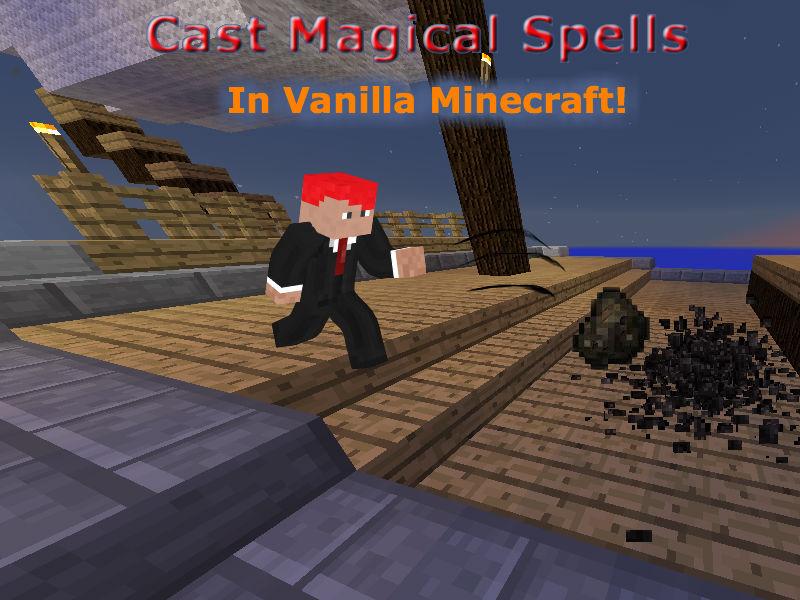 Cast magic spells! [World Download!] Minecraft Blog