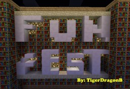 FuN fEsT Mini-Game 1.8 Minecraft Map & Project
