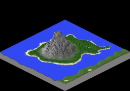 Volcano Island Minecraft Map & Project