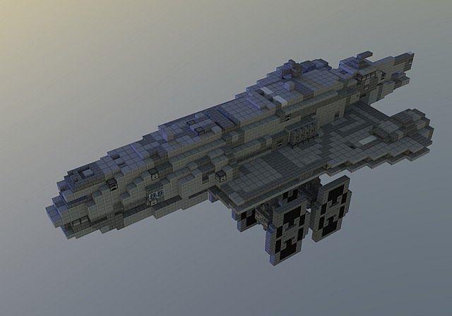 Gozanti Class Cruiser Minecraft Project