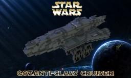 Gozanti-class Cruiser Minecraft