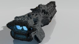 Hare-Class Cruiser Minecraft Map & Project