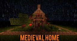 Small Medieval, Halloween Home! Minecraft Project