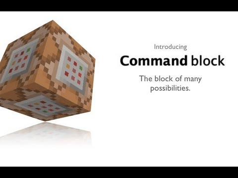 how to use command blocks to give items