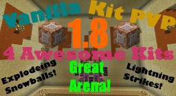 Kit PvP Arena Run By Command Blocks in 1.8!