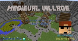 Medieval Village /w Abandon Mine Shaft Minecraft Map & Project