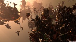 Blackwind Metropolis: A City in the Sky Minecraft Project