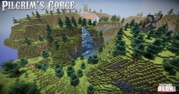 Minecraft Kit-PVP: Pilgrim's Gorge Minecraft Map & Project
