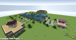 Pixelmon Town Project #2 Minecraft Map & Project