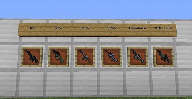rifle8248496 [1.9.4/1.8.9] [32x] MC WAR Pixel Gun 3D Texture Pack Download