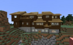 Halcyon: A Cedar-Contemporary Estate Minecraft Map & Project