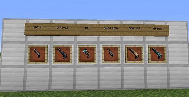 shotgun8248500 [1.9.4/1.8.9] [32x] MC WAR Pixel Gun 3D Texture Pack Download