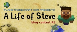 Rugger's Life Of Steve Entry Minecraft Blog Post