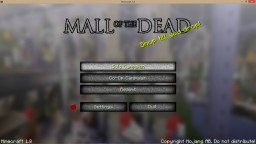 Mall of the Dead (COMING SOON) Minecraft Project