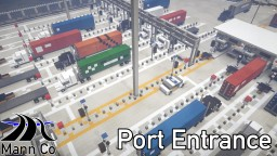 Huntington Port Entry and Offices | Huntington City | ECS Minecraft