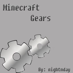 How to make Gears! Minecraft Blog Post
