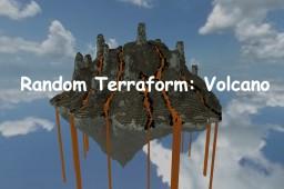 Random Terraform #1: Volcano Minecraft Map & Project