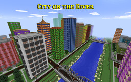 City on the River Minecraft Map & Project