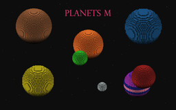 Planets M Minecraft Map & Project