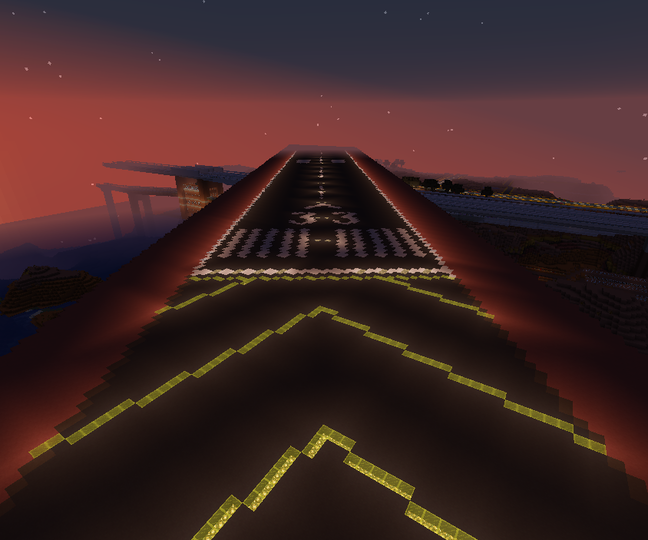 Candy Airport runway