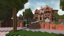 Tudor / European Manor ~ Hoop281 Minecraft Map & Project