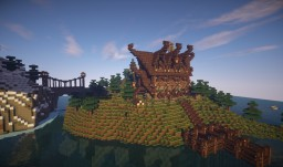 Fantasy / Nordic House Minecraft Map & Project