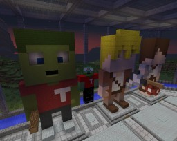 Staff Statues Minecraft Map & Project
