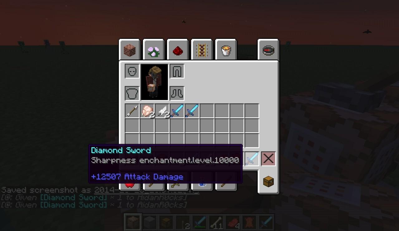 minecraft admin commands 1.13