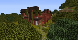 Mordern House Minecraft Map & Project