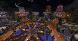 Professional hub server spawn w/ Download Minecraft Map & Project