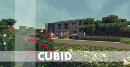 Cubid - Modern house Minecraft Map & Project