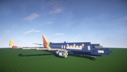 """The New Southwest 737-800 """"HeartOne"""" Minecraft Map & Project"""