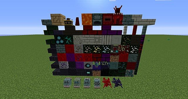 All blocks added in AbyssalCraft
