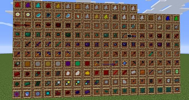 All items added in AbyssalCraft