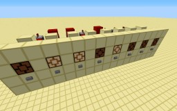 Expandable Button Selector Minecraft Map & Project