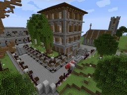 Multi-Style City | Town Of Gambale [DOWNLOAD] Minecraft