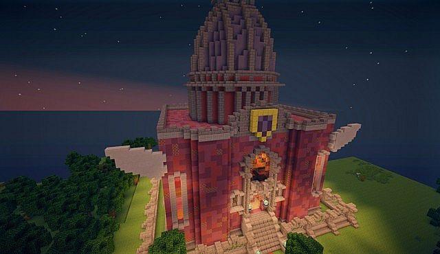 MCNAFU Fairy Tail • Blue Pegasus Guild Hall • ♥ Minecraft ...