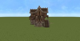 3 Story Medieval House Minecraft Map & Project