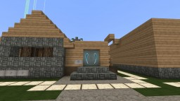 Villagers' Coffee Shop Minecraft Map & Project