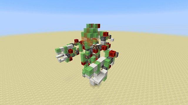 anfall Atlas in Minecraft - Walking Mech Suit Minecraft Project