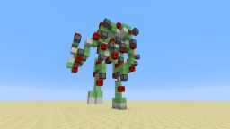Titanfall Atlas in Minecraft - Walking Mech Suit Minecraft Project