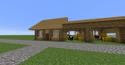 Horse and Stable Minecraft Map & Project