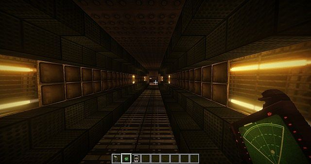 minecraft alien isolation map