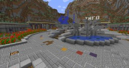 Quick-Build small server hub spawn w/ Download (1.8 only) Minecraft Map & Project