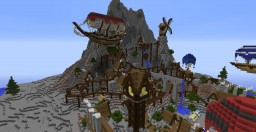 The Island of dragon tail (1.8) Industrial Revolution Contest Entry Minecraft