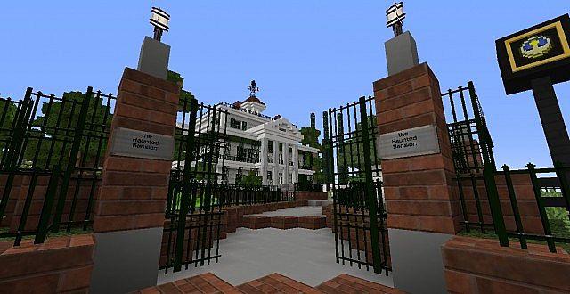 Disney Land Haunted Mansion Minecraft Project