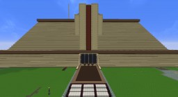 Jedi Temple being built on PMC Official Server Minecraft Map & Project